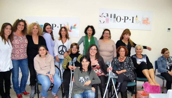 נייל סטודיו חיפה מארח את נשות קבוצת אתגרים קרית ביאליק