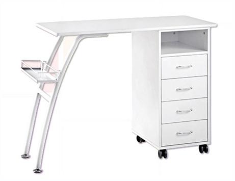 משהו רציני שולחן מניקור דגם NS3429 - לבן - Nail Studio MP-06