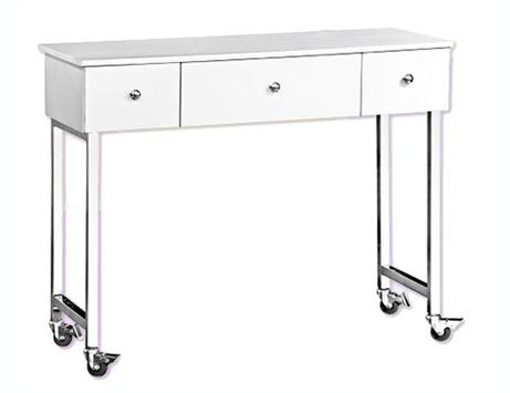 האחרון שולחן מניקור דגם NS3434 - לבן - Nail Studio HC-93