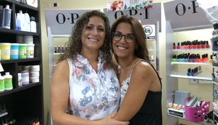 איילה עובד נייל סטודיו חיפה