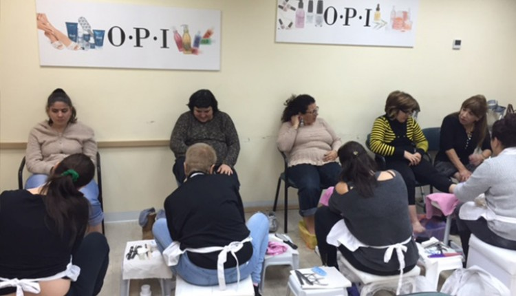 נייל סטודיו חיפה מארח את נשות קבוצת אתגרים