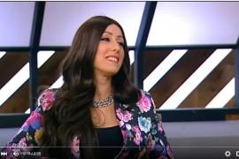סימון שוויקי מתארחת בתוכנית מילון היופי (ערוץ 10)